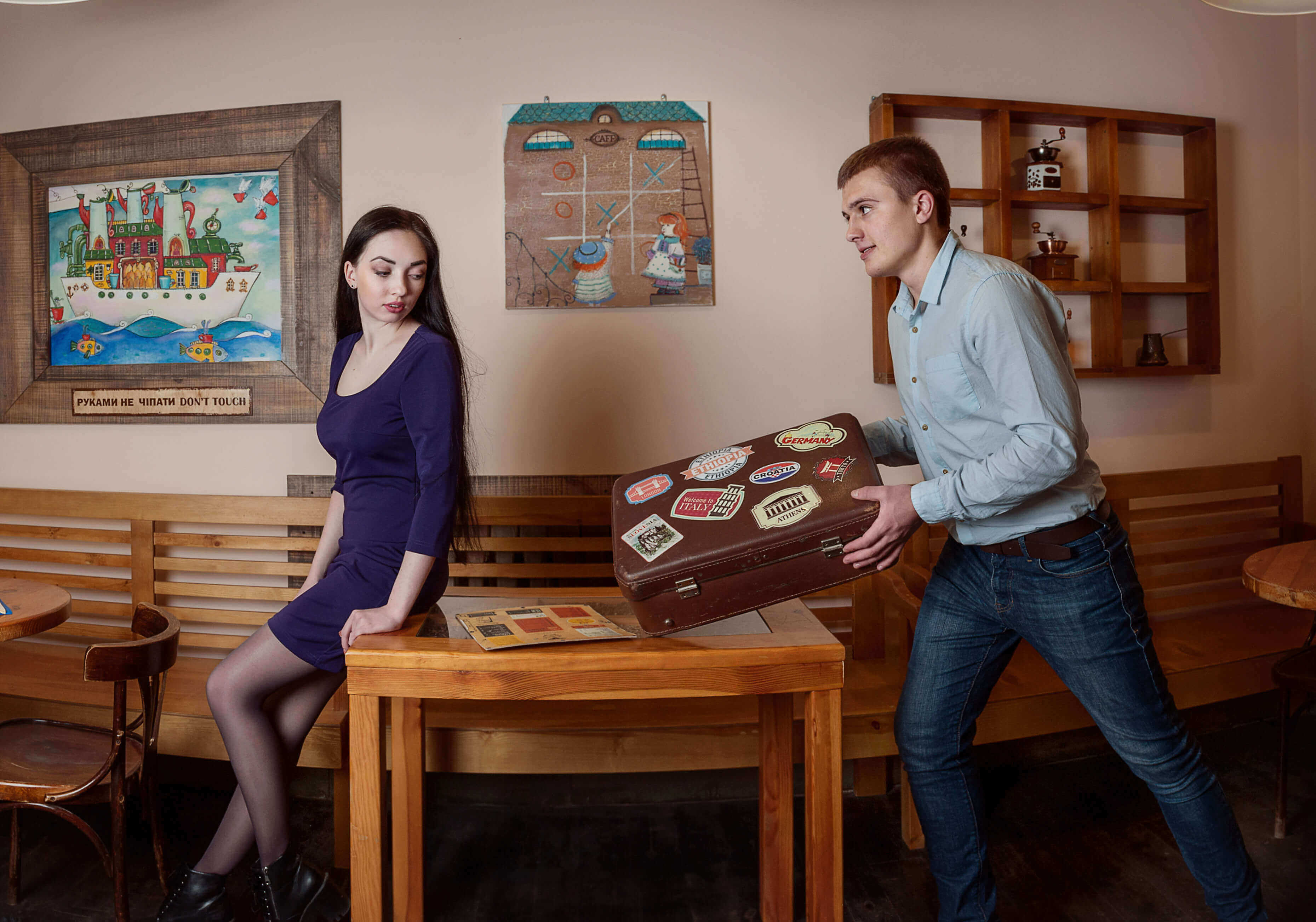 1 Фото квест комнаты Восточный Эспрессо в городе Одесса