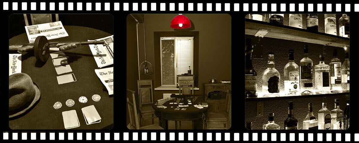 2 Фото квест кімнати Мафія в місті Харків
