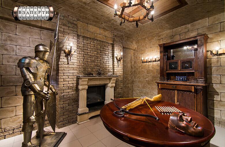 1 Фото квест комнаты Башня Мерлина в городе Киев
