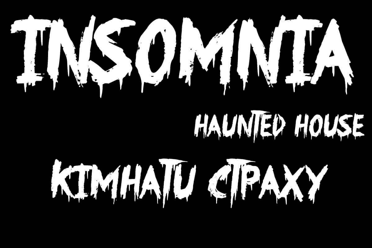 Pict Insomnia Haunted House