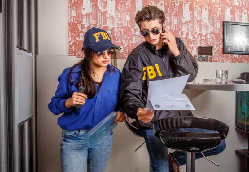 Картинка квест комнаты FBI: служебное расследование в городе Киев