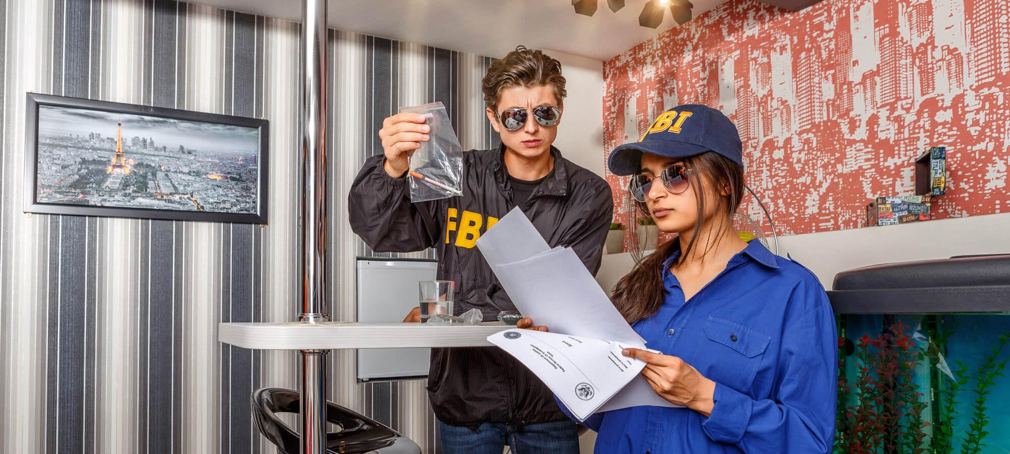 2 Фото квест комнаты FBI: служебное расследование в городе Киев
