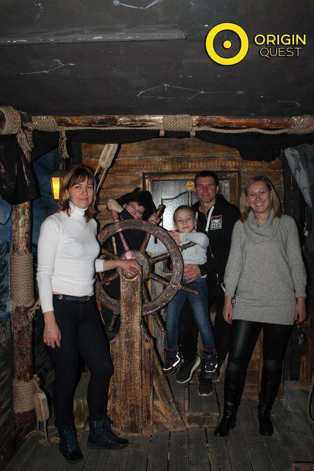 1 Photo quest room Pirates of the Caribbean in the city Zaporizhia