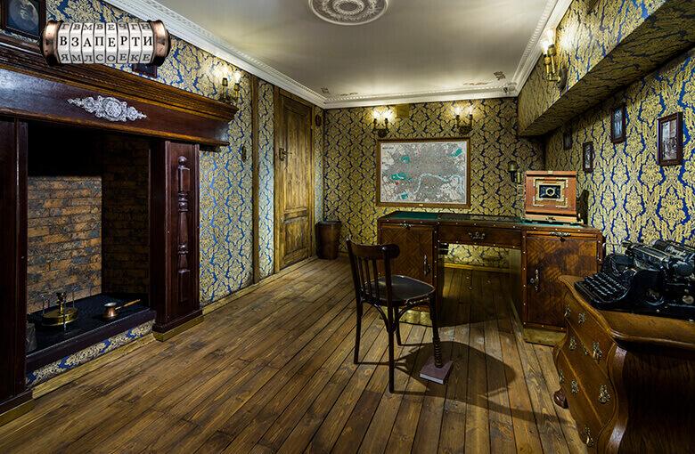 1 Фото квест комнаты Викторианский детектив в городе Киев