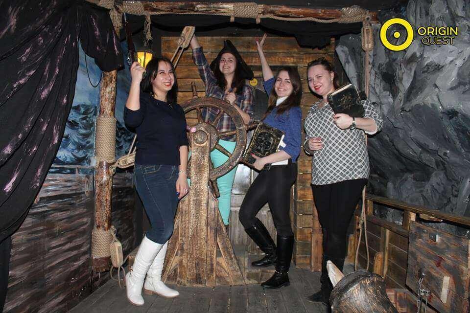 3 Фото квест комнаты Пираты Карибского моря в городе Запорожье