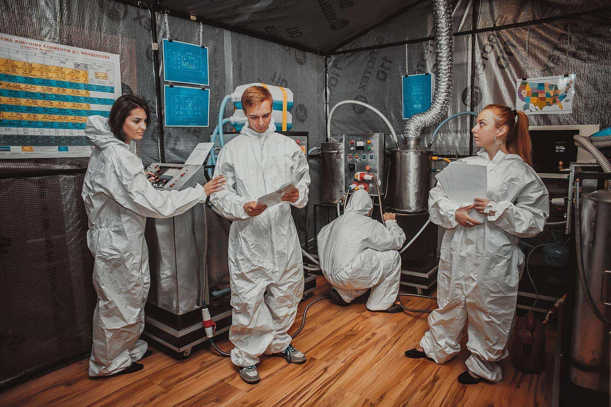 1 Фото квест комнаты Лаборатория Cooking Bad в городе Львов