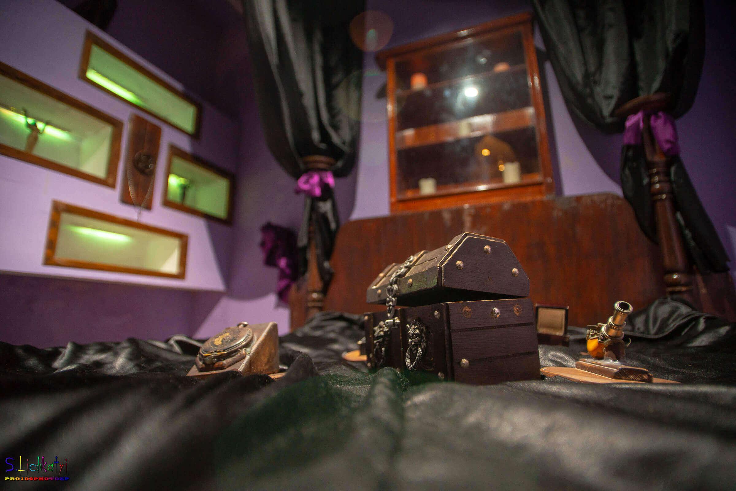2 Фото квест комнаты Ведьма Сара в городе Запорожье