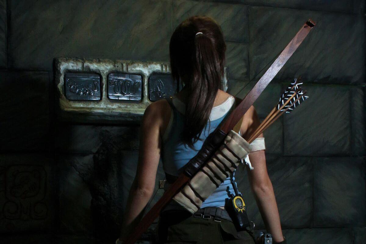 1 Фото квест комнаты Lara Croft: Храм Надписей в городе Киев