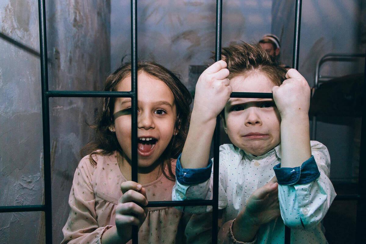1 Фото квест кімнати В'язниця в місті Київ