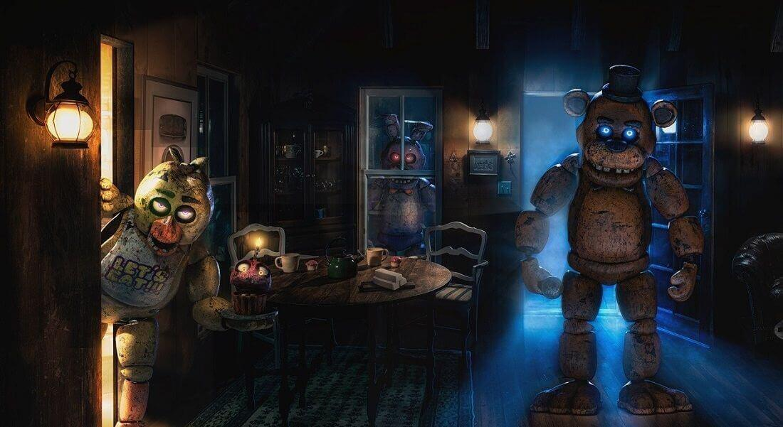 1 Photo quest room Five Nights at Freddy's in the city Odessa