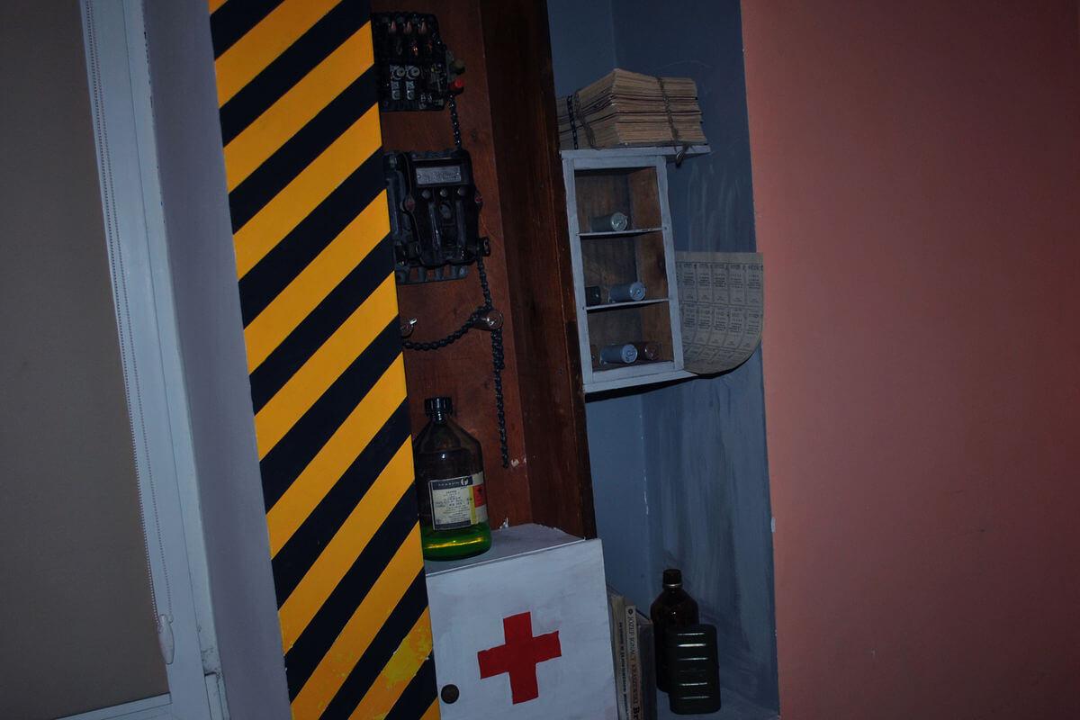3 Фото квест комнаты Сталкер в городе Львов