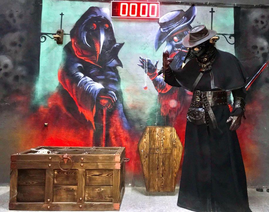 Картинка квест комнаты Чумной доктор в городе Одесса