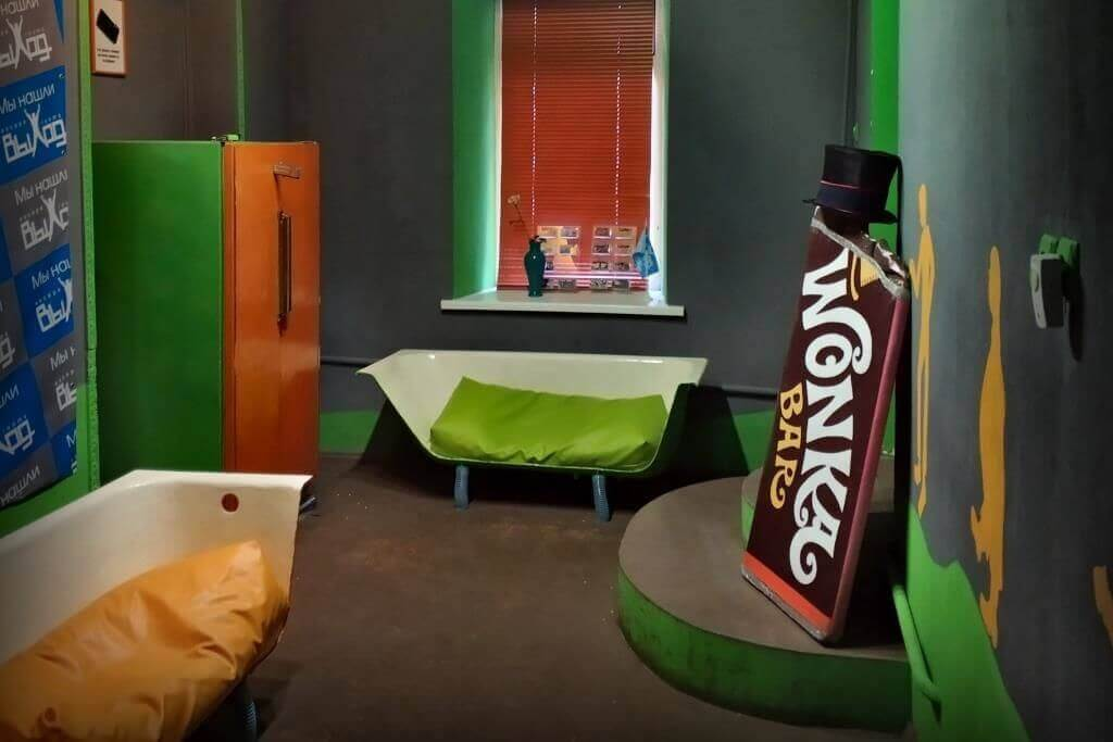 3 Фото квест комнаты Чарли и шоколадная фабрика в городе Одесса