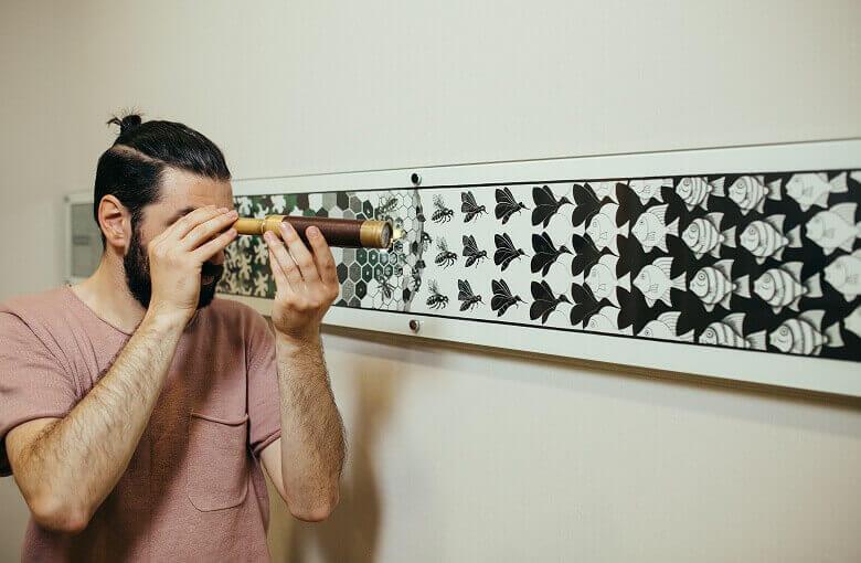 1 Фото квест комнаты Музей невозможных фигур в городе Киев