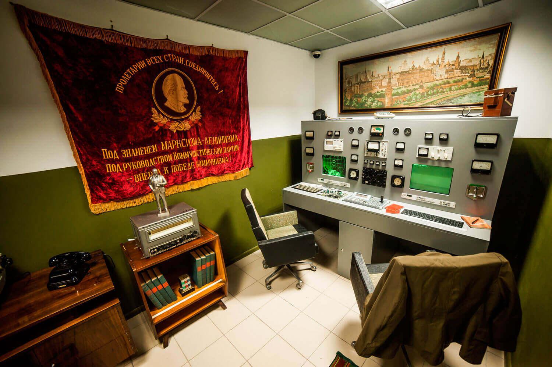 1 Фото квест кімнати Ядерна загроза в місті Київ