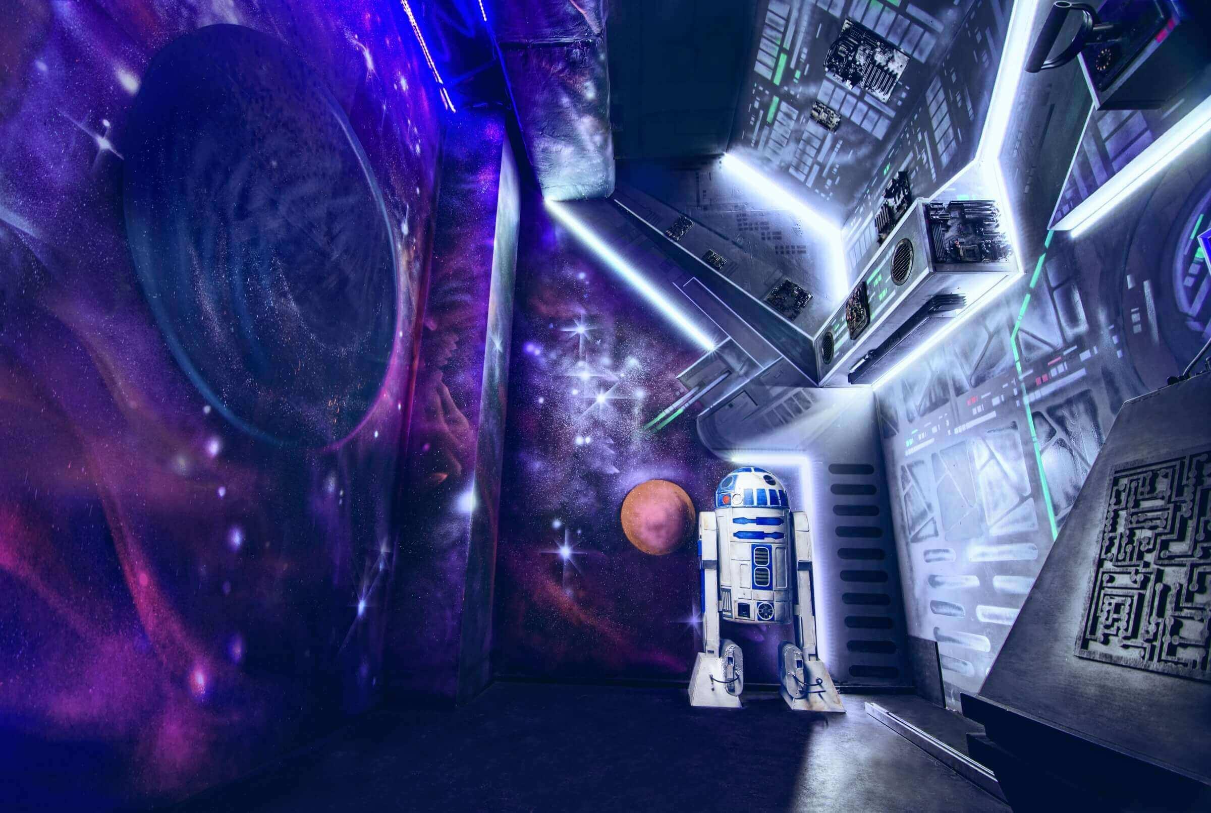 1 Фото квест комнаты Звездные Войны в городе Львов