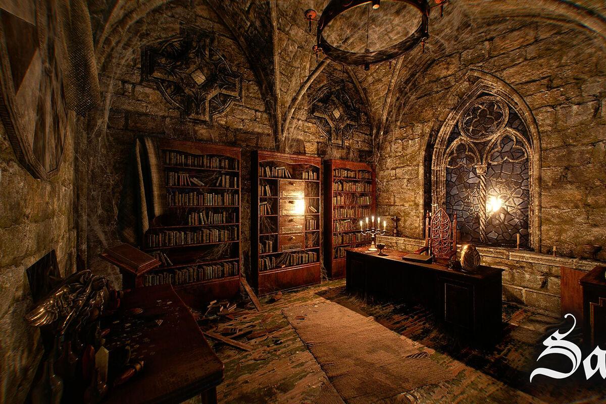1 Photo quest room Sanctum in the city Lviv