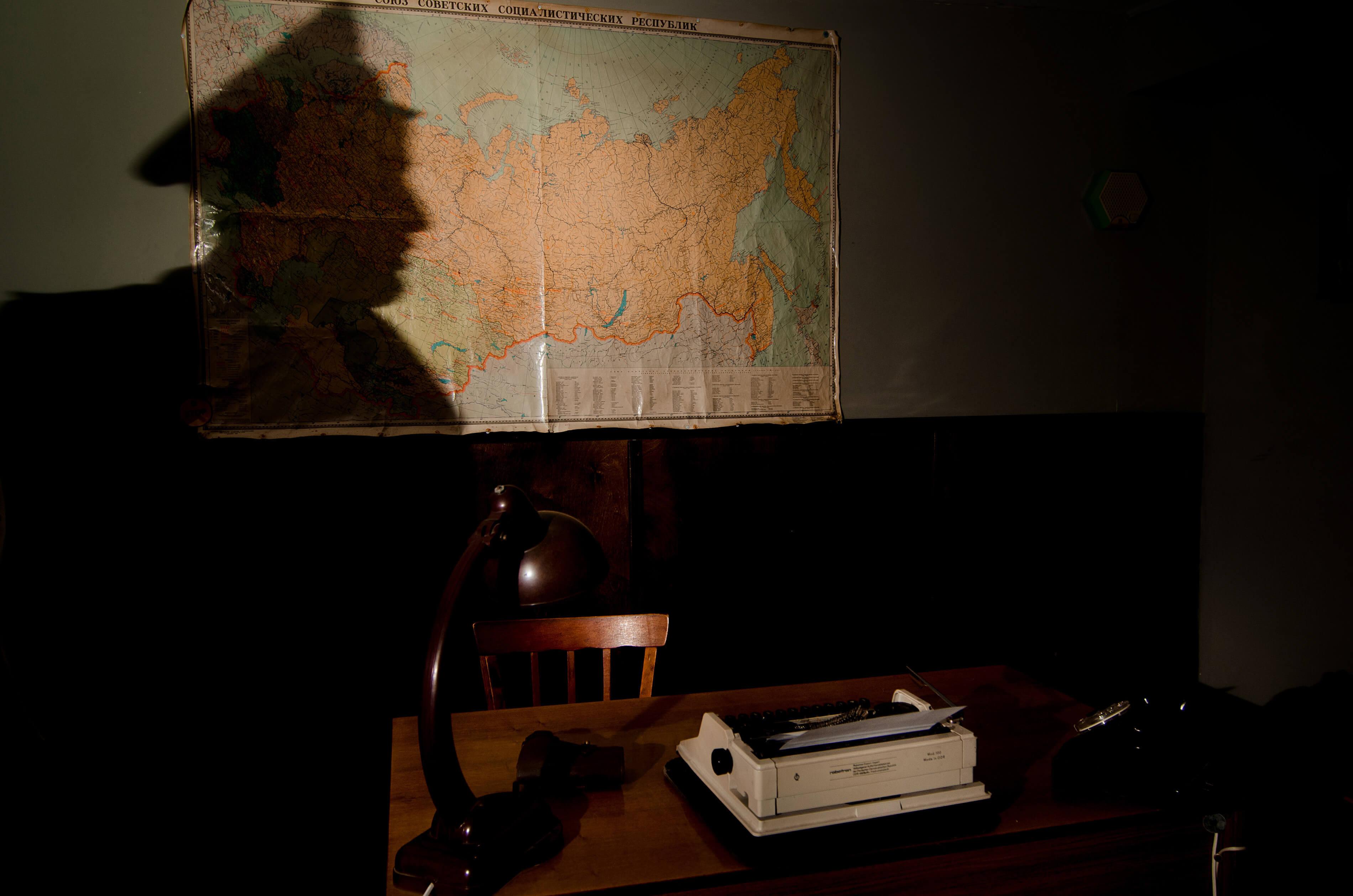 3 Фото квест комнаты Кабинет КГБ в городе Запорожье