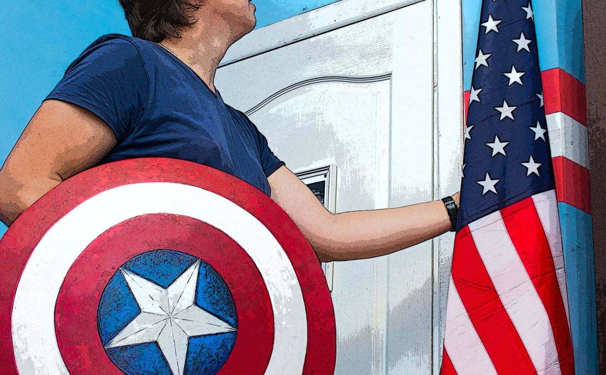 1 Фото квест комнаты Капитан Америка в городе Харьков