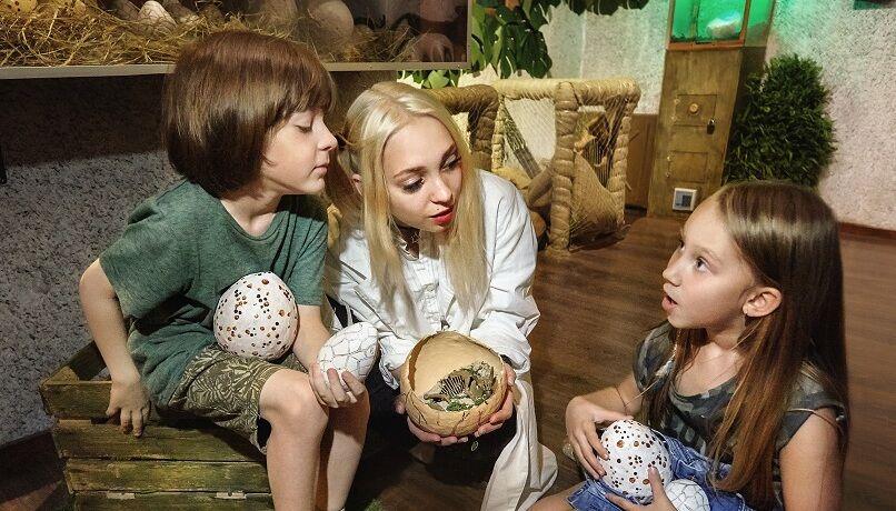 1 Photo quest room dinosaur walk in the city Kyiv