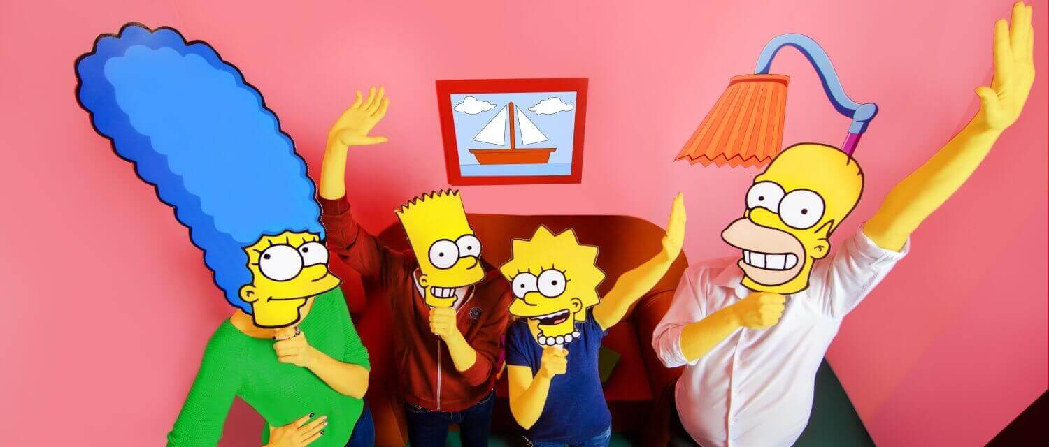 1 Photo quest room The Simpsons (Lviv) in the city Lviv