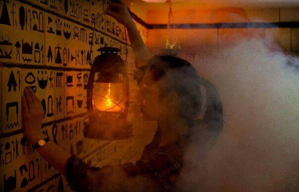 3 Фото квест комнаты Гробница Фараона в городе Полтава