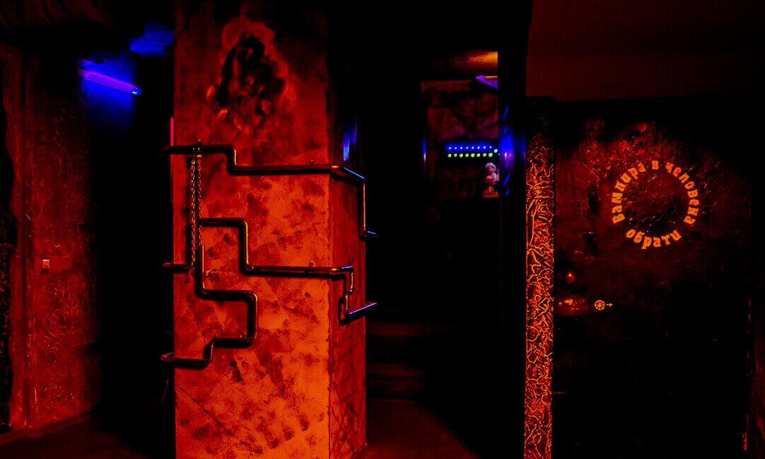 1 Фото квест комнаты Dark Hunter в городе Днепр