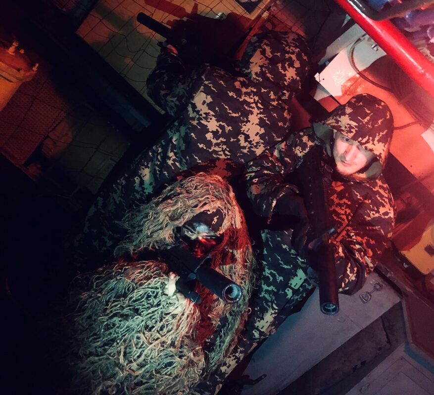 1 Photo quest room Laser tag quest Polygon No. 13 platform 1 in the city Kyiv