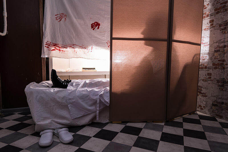 3 Фото квест комнаты Resident Evil. Episode I в городе Киев