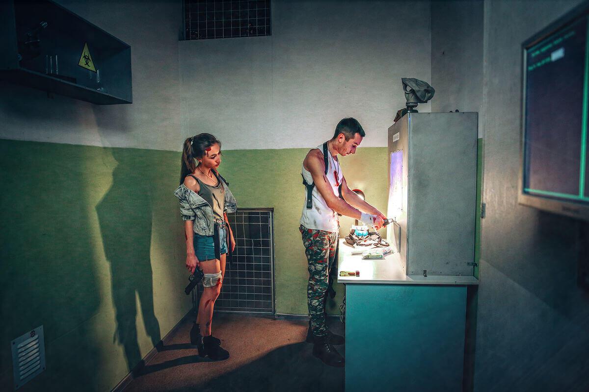1 Фото квест кімнати Операція Z в місті Київ