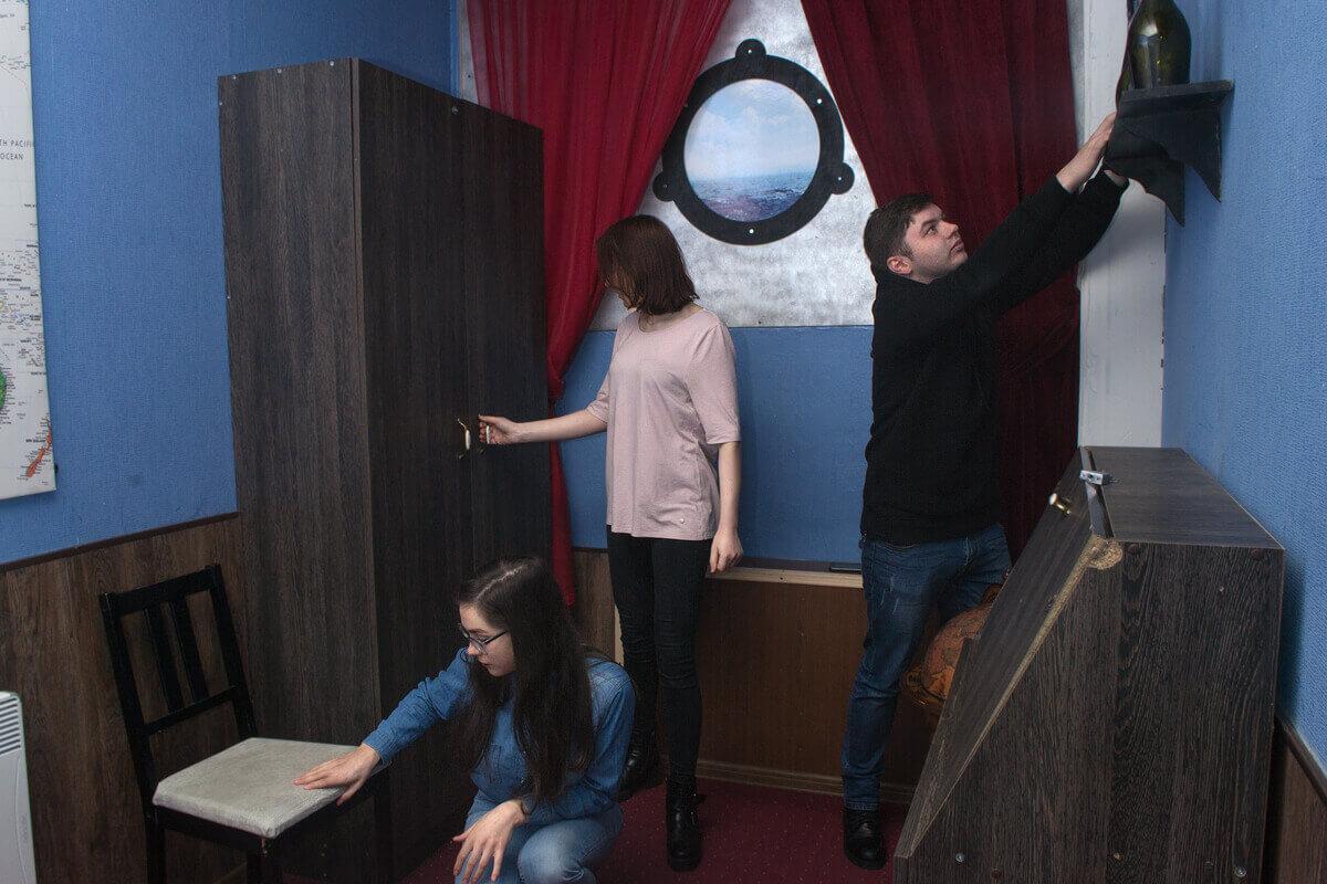 1 Фото квест комнаты Каюта №18 в городе Ровно