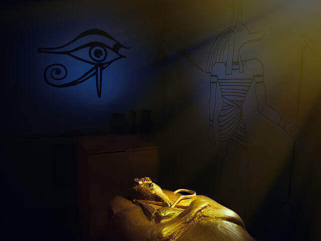 1 Фото квест кімнати прокляття Тутанхамона в місті Київ
