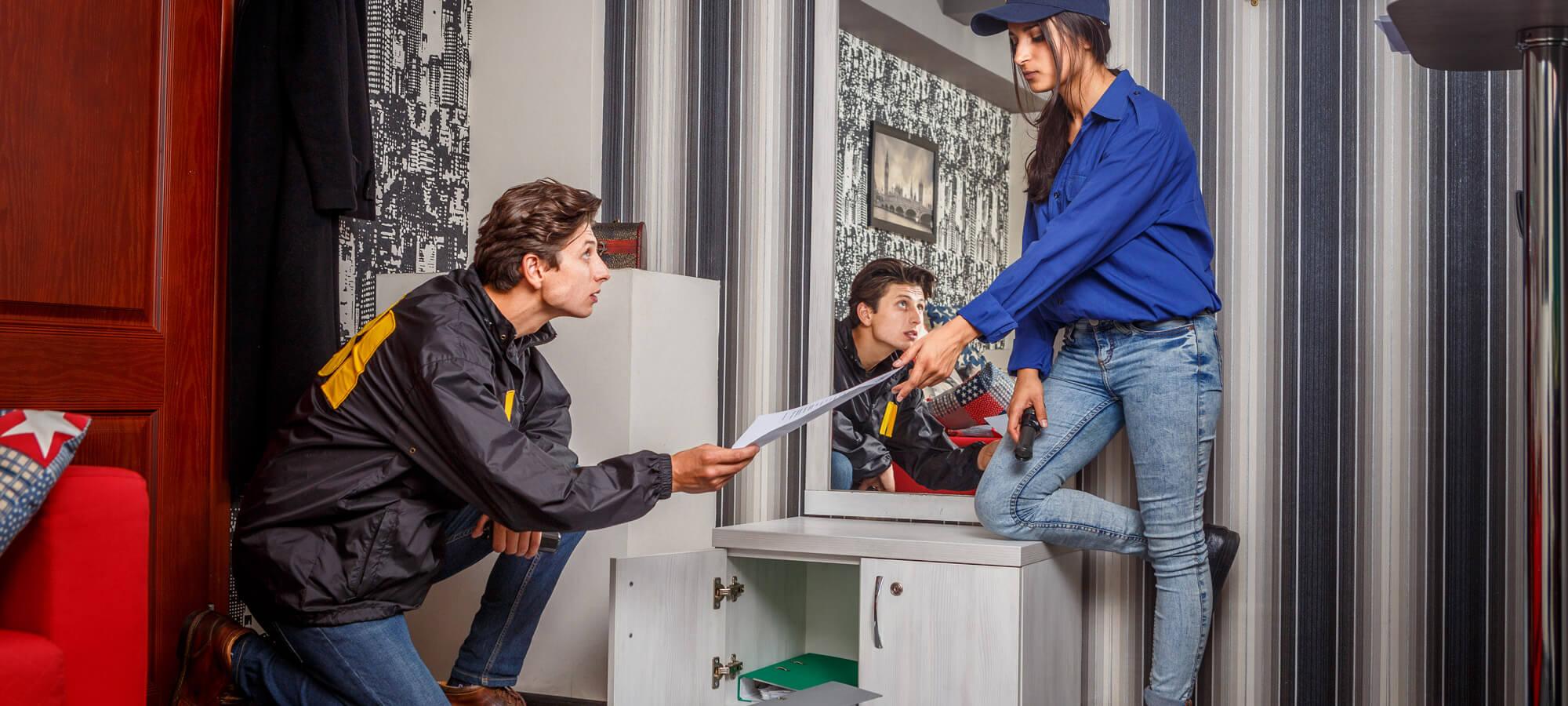 1 Фото квест комнаты FBI: служебное расследование в городе Киев