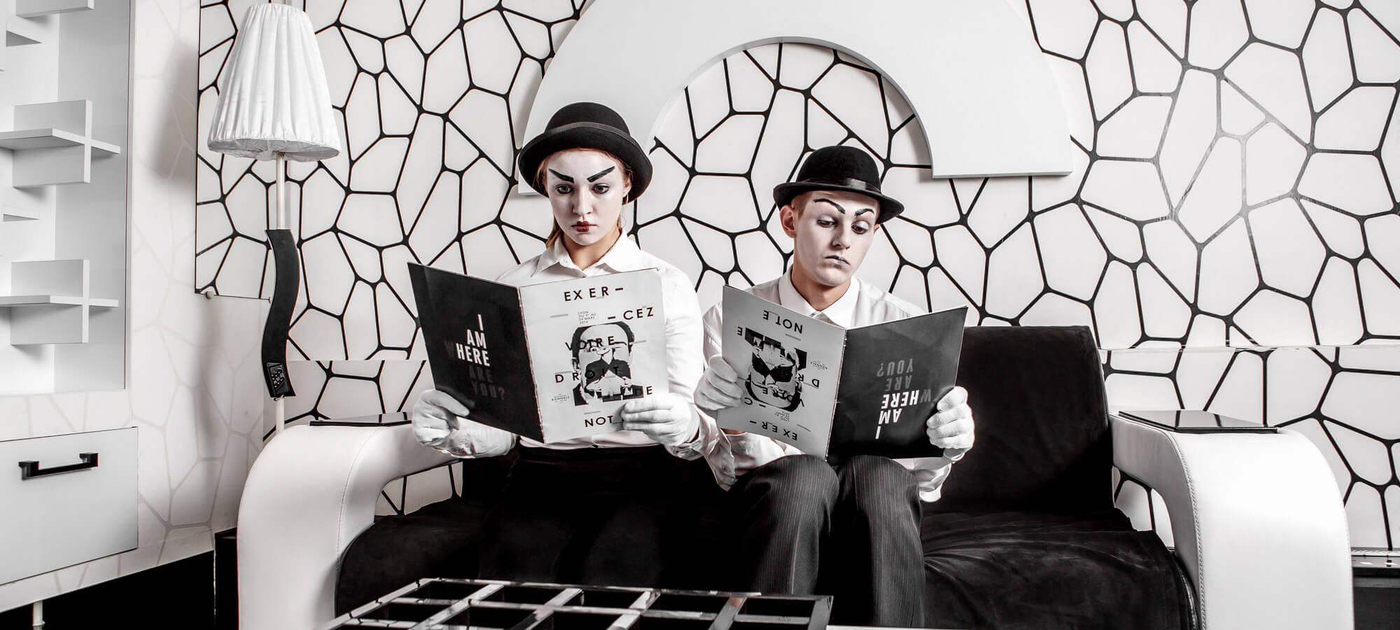1 Фото квест комнаты Черно-белая история (магия) в городе Киев