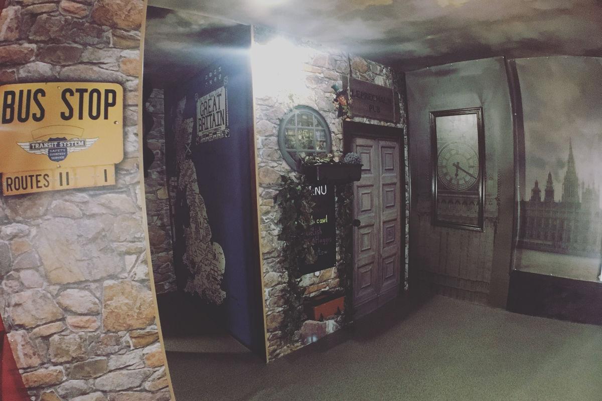 Картинка квест комнаты Спасение Лондона в городе Днепр
