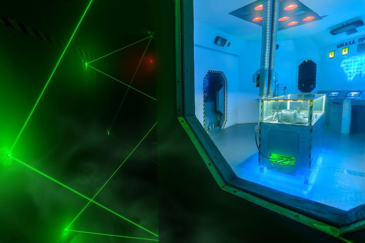 1 Фото квест комнаты Задание NASA в городе Днепр
