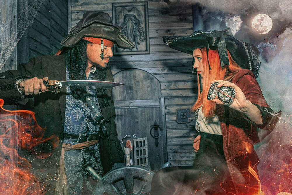 3 Фото квест комнаты Пираты Карибского моря в городе Киев