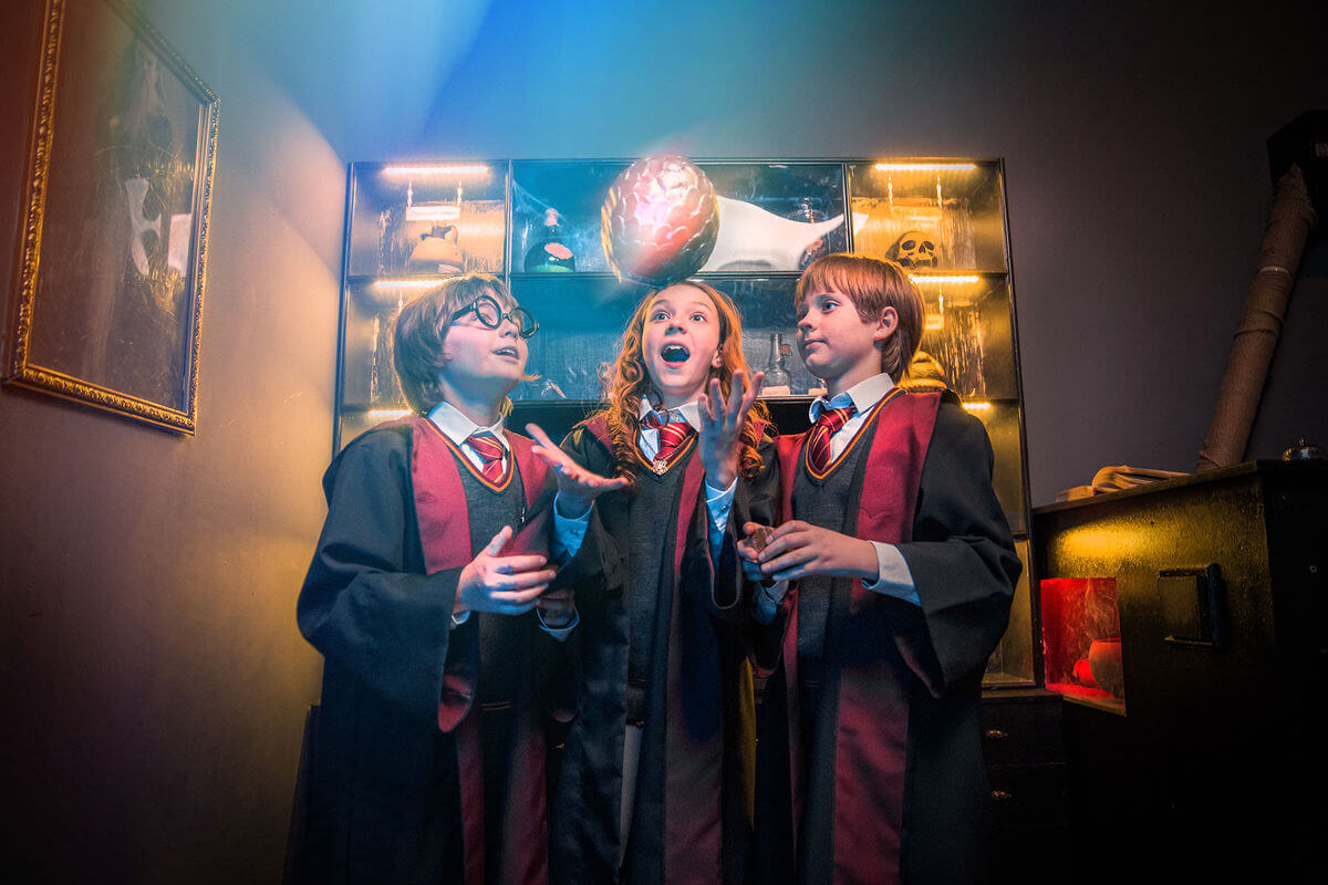 1 Photo quest room Harry Potter in the city Kyiv