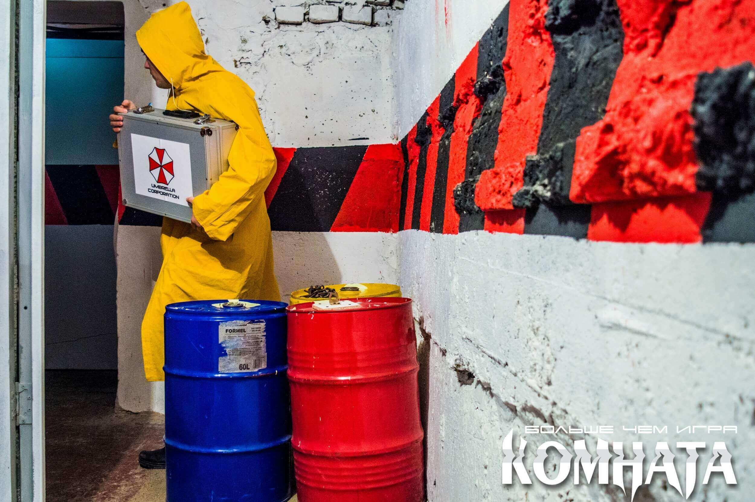 3 Фото квест комнаты Зомби в городе Полтава