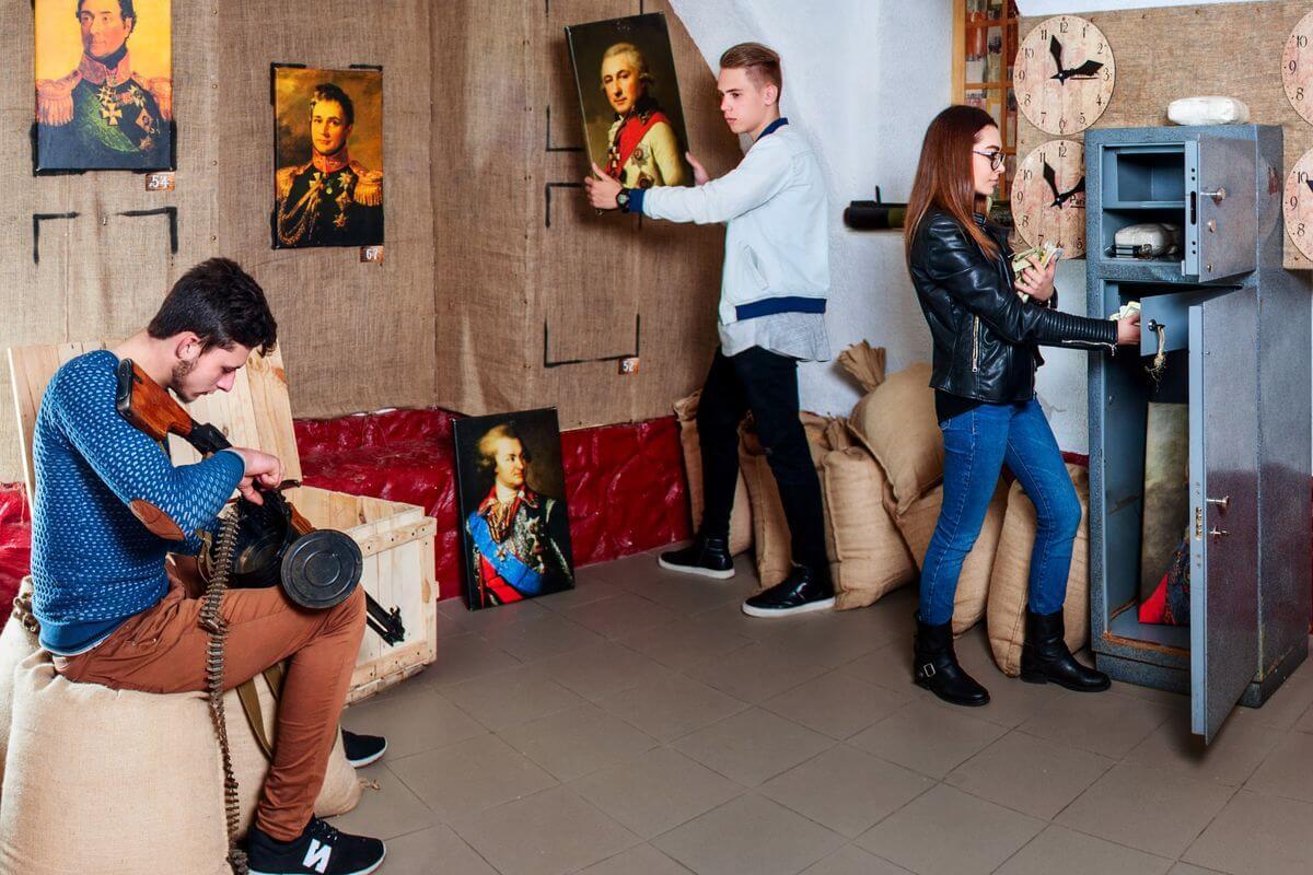 1 Фото квест кімнати Одеська контрабанда в місті Одеса