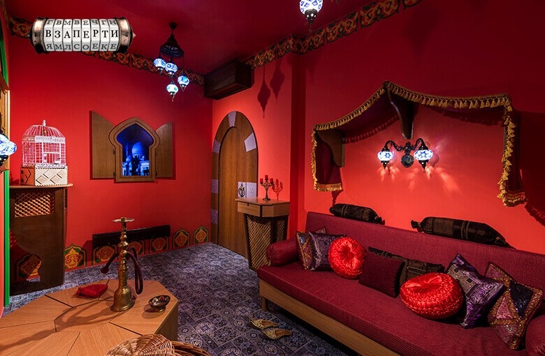1 Photo quest room 1001 nights in the city Kyiv