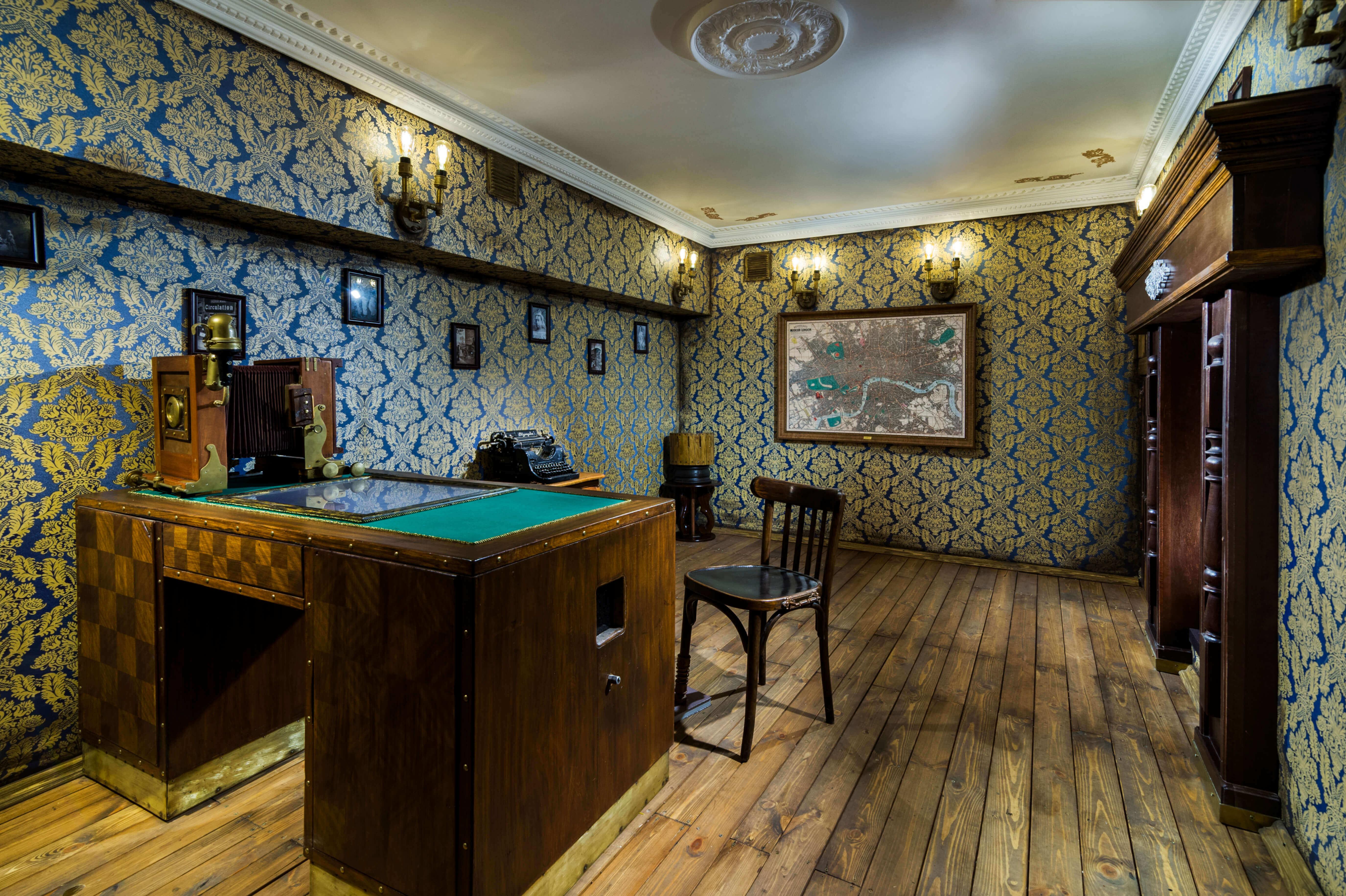 3 Фото квест комнаты Викторианский детектив в городе Киев
