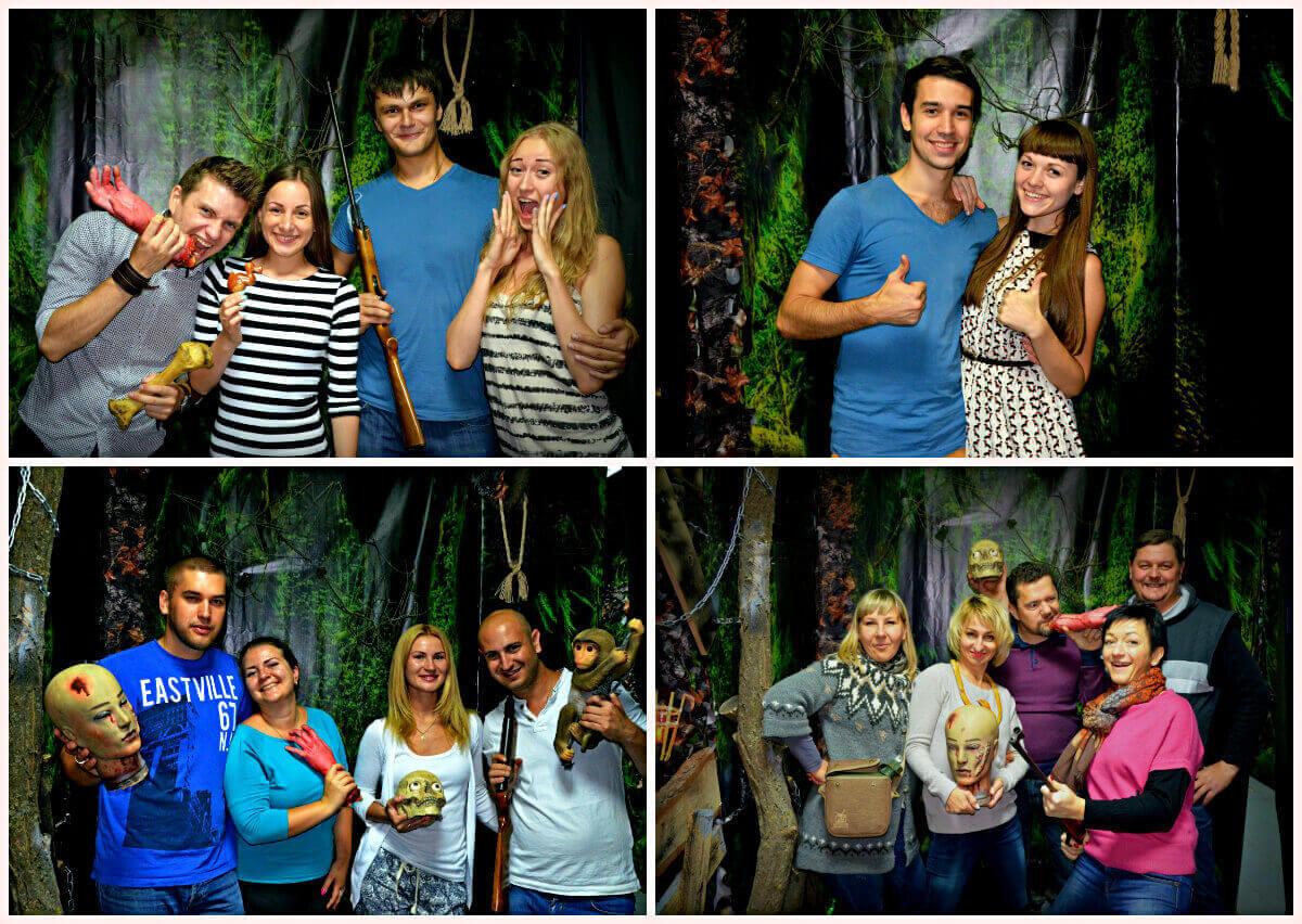3 Фото квест комнаты Вендиго - Демон леса в городе Днепр