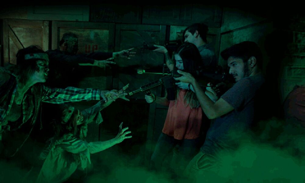1 Photo quest room Zombieland Lasertag in the city Odessa
