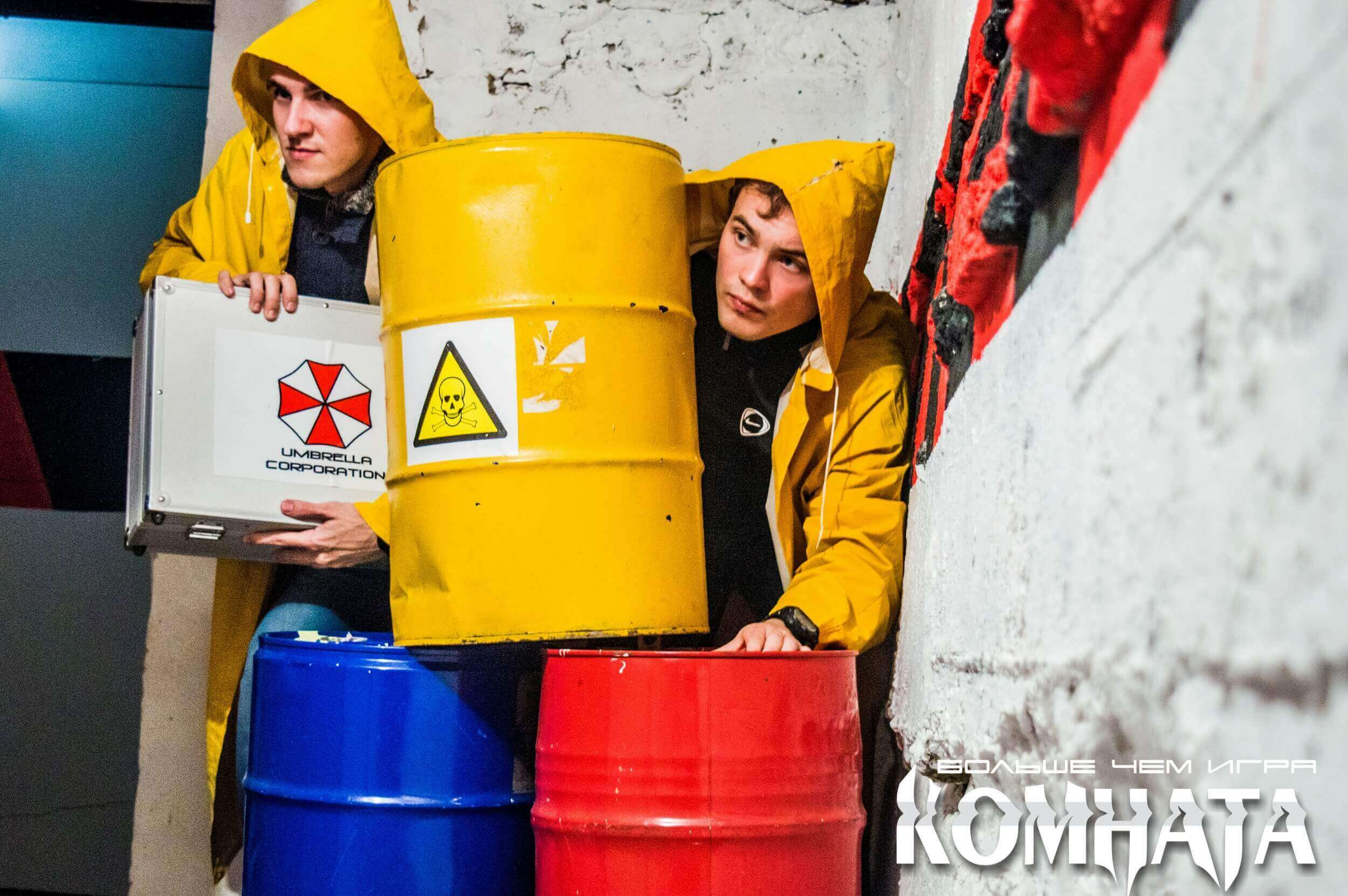 2 Фото квест комнаты Зомби в городе Полтава