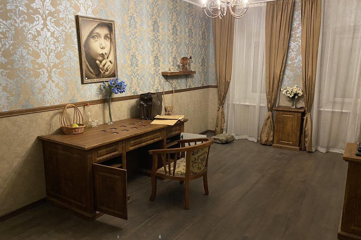 1 Photo quest room Poirot's last case in the city Kyiv