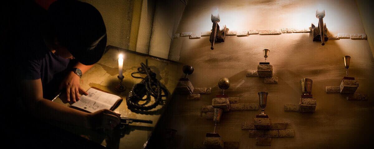 2 Фото квест комнаты Индиана Джонс в поисках Грааля в городе Харьков
