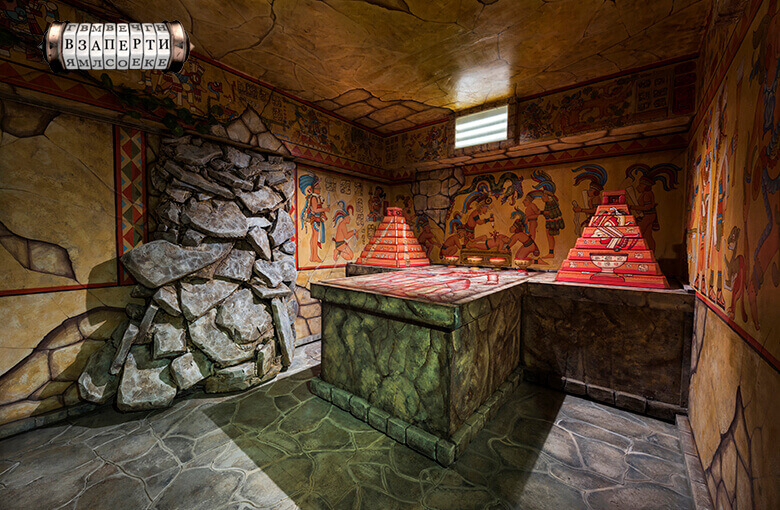 1 Фото квест комнаты Майя: конец эпохи в городе Киев
