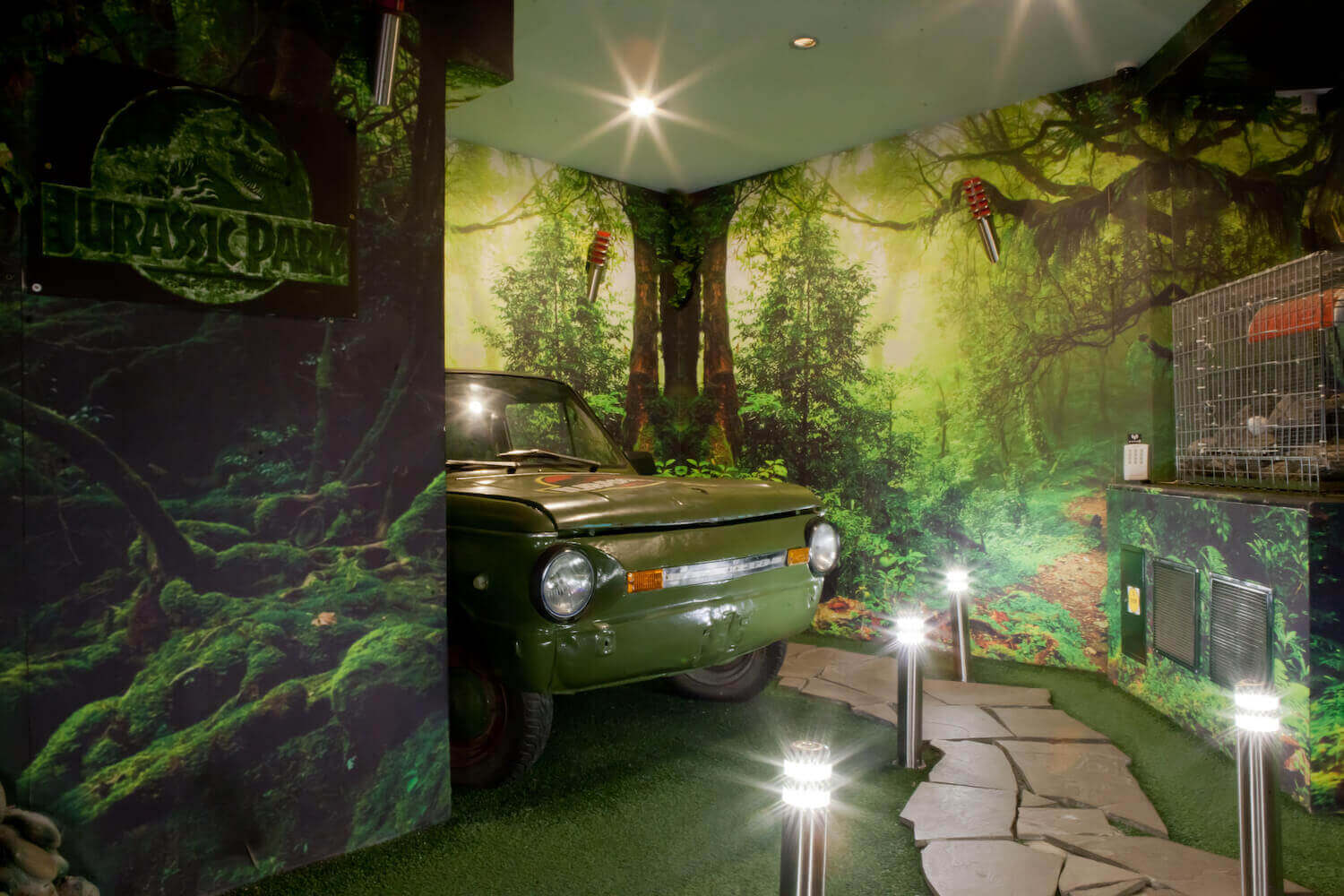 1 Photo quest room Jurassic Park in the city Kyiv