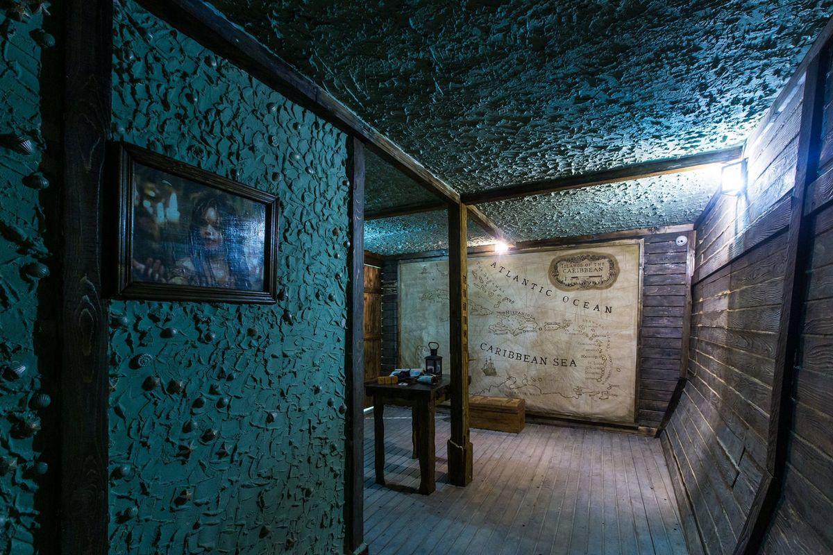 Картинка квест кімнати Пірати карибського моря: Скриня мерця в городе Львів